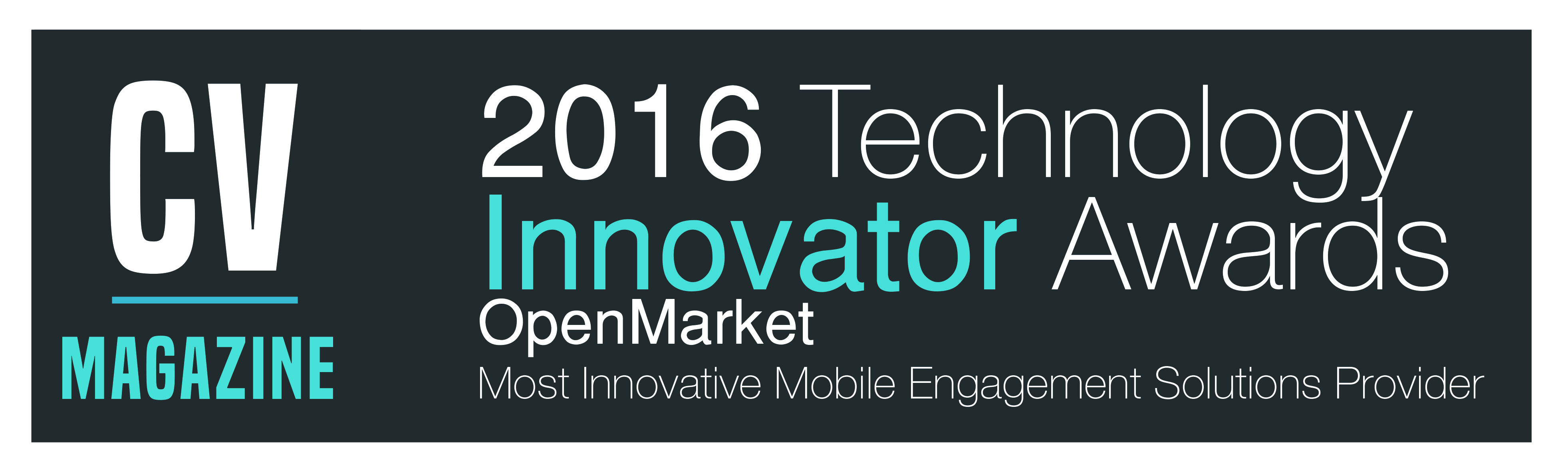 Open Market ,Inc.-Tech Innovator Awards (TI16121) Winners Logo