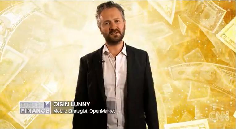 Oisin Lunny, Sr Business Development Manager for OpenMarket