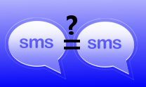 SMS equal