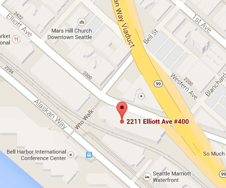 Map of Seattle Office