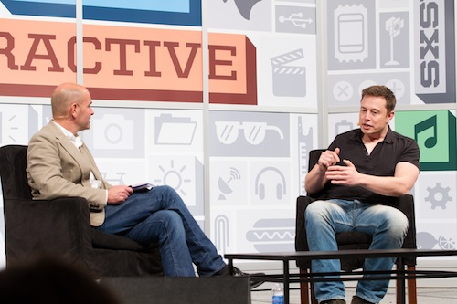 Elon Musk, photo by Kevin McGehearty, SXSW.com