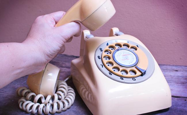 Old School Telephone