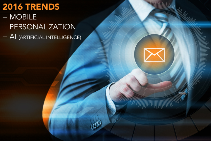 2016 Trends in Mobile, Personalization and Artificial Intelligence