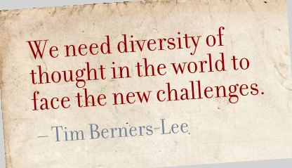 diversity, Berners-Lee