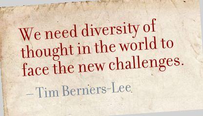 diversity, Berners-Lee