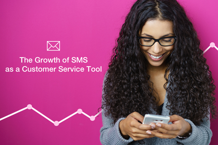 The growth of SMS as a Customer Service Tool
