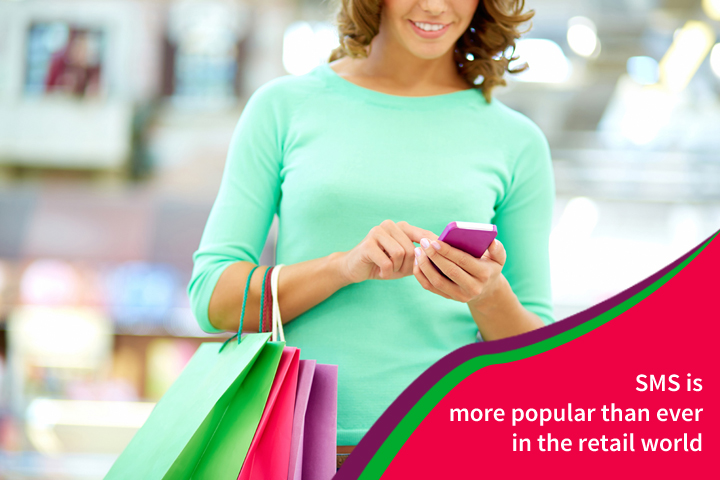 SMS is more popular than ever in the retail world