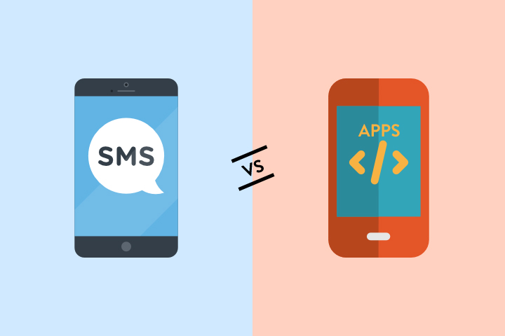 SMS vs Apps