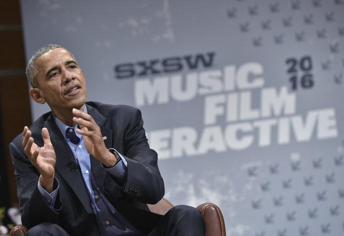 Obama at SXSW 2016