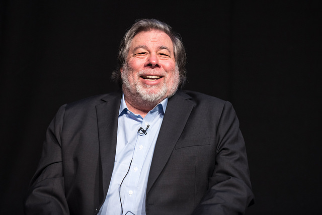 Steve Wozniak at Business Rocks 2016