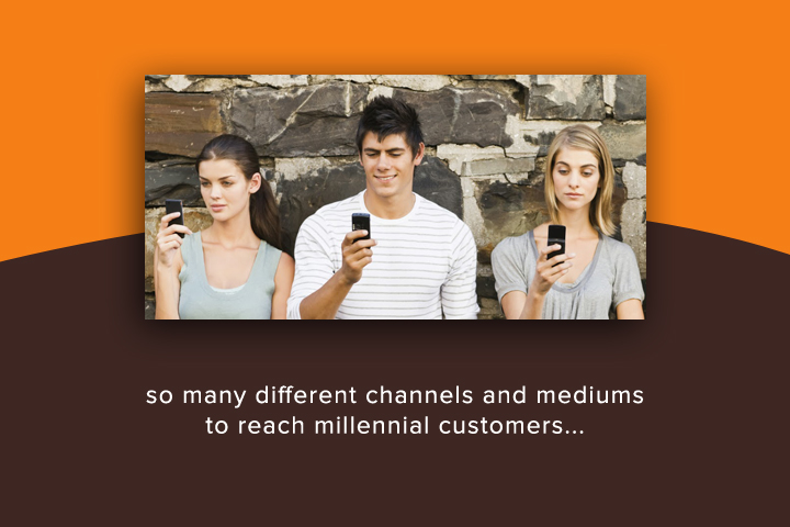 So many different channels and mediums